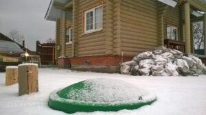 Бурение скважин на воду зимой